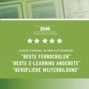Qualitätssiegel Weiterbildung: Das Deutsche Institut für Marketing dreifach ausgezeichnet